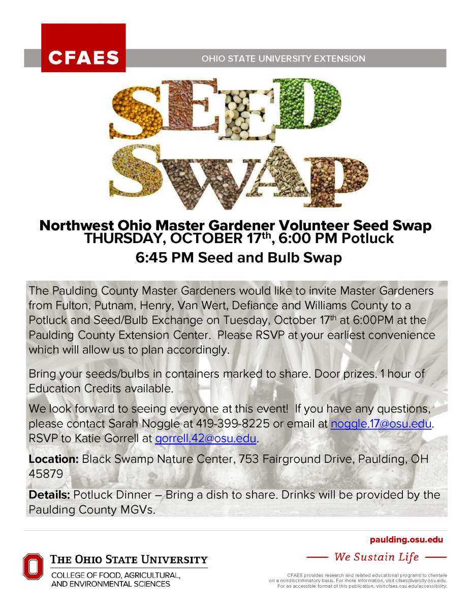 Seed Swap Poster