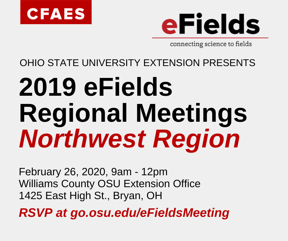 NW OH eFields Meeting