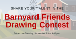 Share your talent in the 2019 Barnyard Friends Drawing Contest